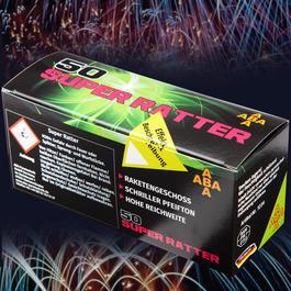 Signaleffekte - Super Ratter Pfeifpatronen 50 Schuss