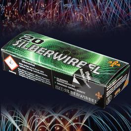Pyrotechnik - Silberwirbel 20 Schuss