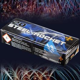 Signaleffekte - Steel Rocket Raketengeschoss Signaleffekte 20 Schuss