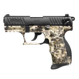 Walther P22 - Walther P22Q Kryptek Camo Schreckschuss Pistole 9mm P.A.K.