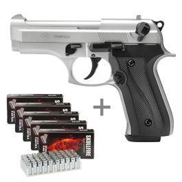 Ekol Firat Compact Schreckschuss Pistole 9mm P.A.K. bicolor inkl. 250 Platzpatronen