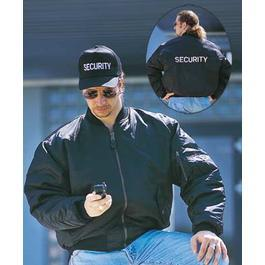 MA-1 Blouson SECURITY, schwarz