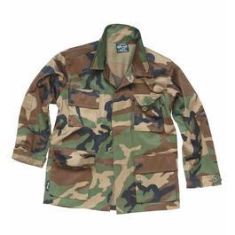Kinder US-BDU-Jacke, woodland