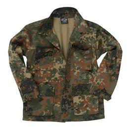BW Bekleidung - Kinder BDU-Jacke, flecktarn