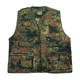 Multifunktionsweste, flecktarn