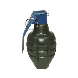 Modellwaffen - Deko-Handgranate MK2 Holz oliv