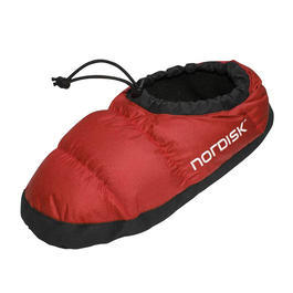 Nordisk  Daunenschuhe,  Mos Down Shoe  ribbon red