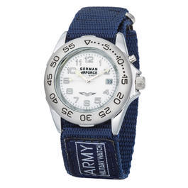 Army Watch Deutsche Luftwaffe Tarnlight mit Textilband