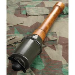 Modell-Waffen - Dt. M43 Stielhandgranate Dekomodell