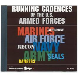 CD Running Cadences of the US Armed Forces