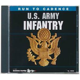 CD US Army Infantry Run to Cadence