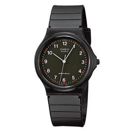 Casio Collection MQ24 Armbanduhr, schwarz