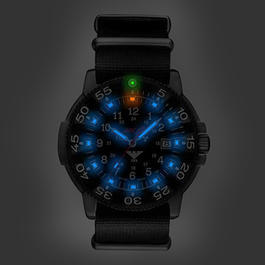KHS Tactical Shadow Blue MK II Uhr mit Nato-Textilband