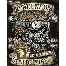 Blechschild 7.62 Vintage Wall Sign Rendezvous With Destiny