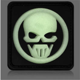 3D Rubber Patch Ghost Recon Glow nachleuchtend