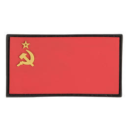 3D Rubber Patch Flagge Sowjetunion