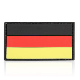 3D Rubber Patch Deutschlandflagge