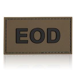 3D Rubber Patch EOD oliv schwarz