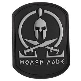 3D Rubber Patch Molon Labe Spartan SWAT