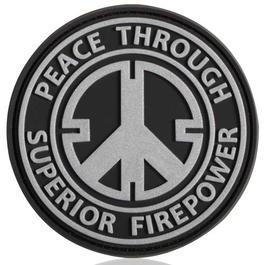 3D Rubber Patch Peace SWAT