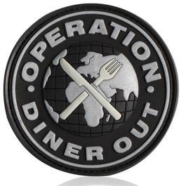 3D Rubber Patch Diner Out SWAT