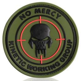 3D Rubber Patch No mercy forest