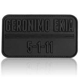 3D Rubber Patch Geronimo EKIA schwarz