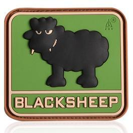 3D Rubber Patch Black Sheep multicam