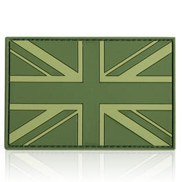 3D Rubber Patch Flagge UK England forest