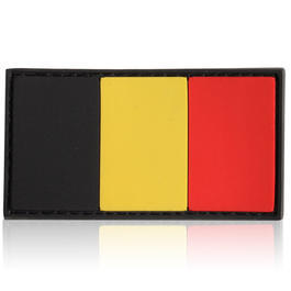 3D Rubber Patch Flagge Belgien