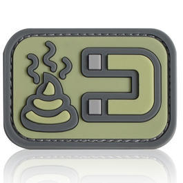 3D Rubber Patch Shit Magnet ACU
