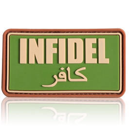3D Rubber Patch Infidel multicam