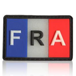 Rucksäcke - 3D Rubber Patch Flagge Frankreich nachleuchtend