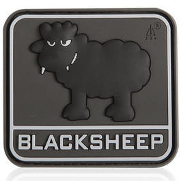 3D Rubber Patch Black Sheep SWAT