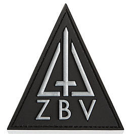 3D Rubber Patch ZBV Comando SWAT