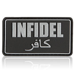 3D Rubber Patch Infidel SWAT