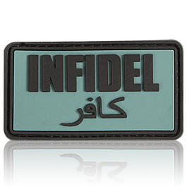 3D Rubber Patch Infidel foliage