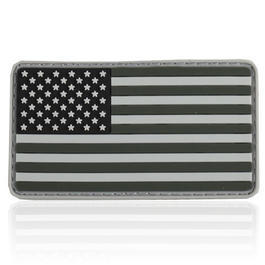 3D Rubber Patch Flagge USA swat