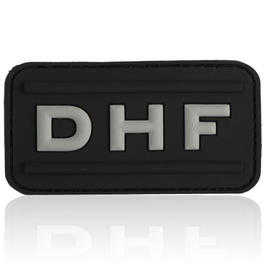3D Rubber Patch DHF swat