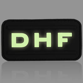 3D Rubber Patch DHF nachleuchtend
