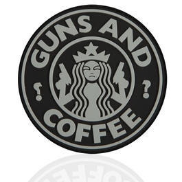 3D Rubber Patch Guns and Coffee swat