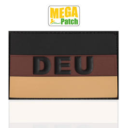 3D Rubber Patch Deutschland DEU desert 8 x 5 cm