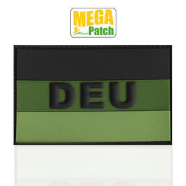 3D Rubber Patch Deutschland DEU forest