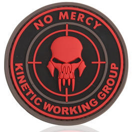 3D Rubber Patch No Mercy Kinetic Working Group blackmedic