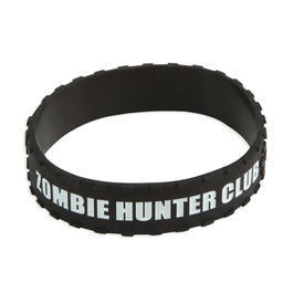 Silikonarmband Zombie Hunter Club