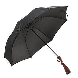 Umbrella Weapon Regenschirm in Gewehroptik
