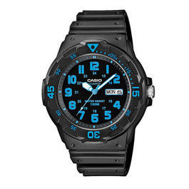 Casio Armbanduhr Collection MRW-200H-2BVEF schwarz blau