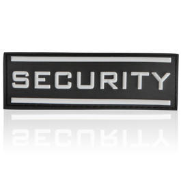 3D Rubber Patch Security gross 9 x 3 cm swat