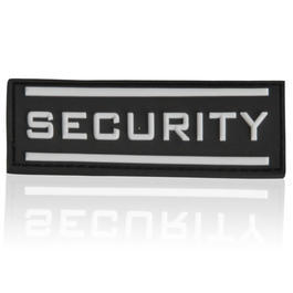 3D Rubber Patch Security klein 8 x 2,5 cm swat