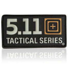 3D Rubber Patch 5.11 Tactical Series nachleuchtend